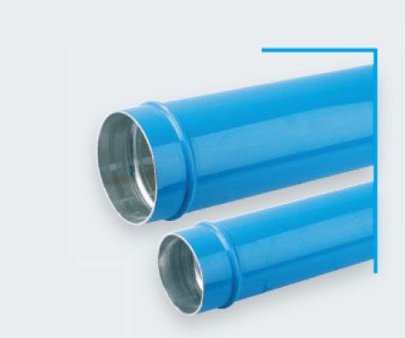 Transair蓝色钢性铝管D76-D100 空压配管、legris压缩空气配管、TRANSAIR