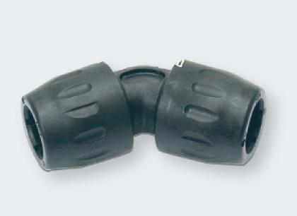 Transair45度弯接头D25-D40 空压管路  空压管路、空压配管、legris空压管