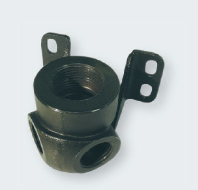 Transair二个螺纹口的壁式接头D16.5-D25 乐可利空压管、legris压缩空气配管、空压配管