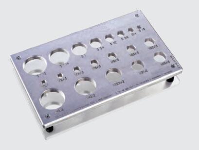 预防混淆|用于确定螺纹规格的螺纹量板 FORM成型机 卡套预装机