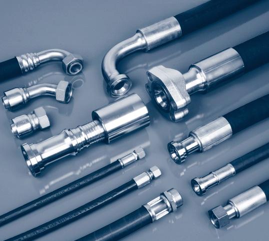 福乐尔胶管总成软管.天津液压系统 液压管路连接
