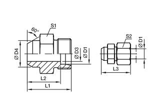 AS 焊接式接头、PARKER接头、parker球阀