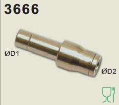 legris乐可利管对管三通接头3604 rectus官网 legris软管