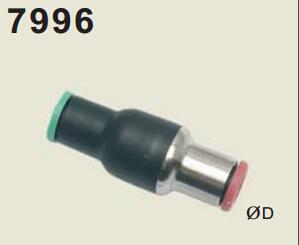 legris乐可利管对管接头带单向阀7996 legris气管 legris球阀