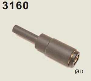 legris乐可利尾管式带关闭快速接头3160 legris legris软管