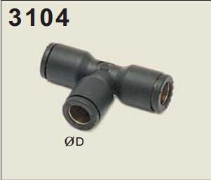 legris乐可利等径管对管三通接头3104 legris气控阀 legris球阀