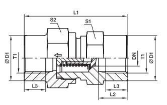 RHDI 单向阀 英制内螺纹、PARKER卡套接头、parker球阀