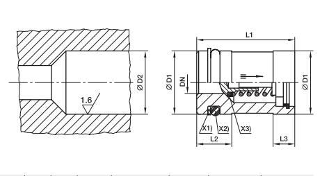 RVP 插装式单向阀、parker球阀、PARKER接头