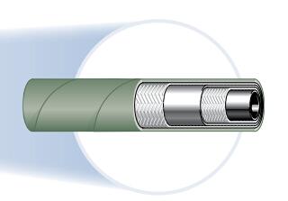 304 2层钢丝耐磷酸酯软管、parker软管、parker油管