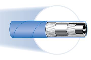 436 2层钢丝耐高温软管、PARKER胶管、parker钢管