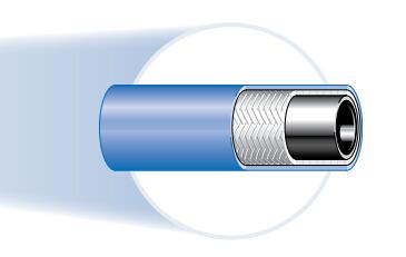 493 紧凑型1层钢丝编制热水清洗软管、parker钢管、parker油管
