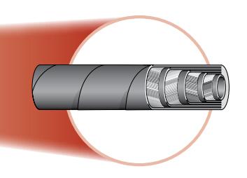 701不剥胶缠绕软管 PARKER接头 parker 管件