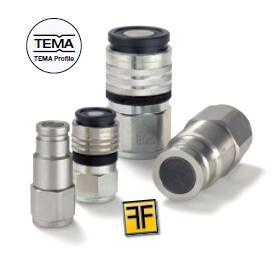FF(TEMA) 系列快换接头 平齐端面型 legris快插接头、PARKER卡套接头、PARKER接头